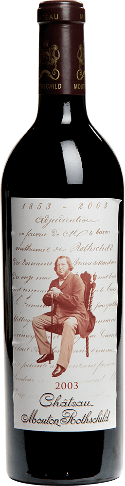 Chateau Mouton Rothschild, Pauillac, Bordeaux, France, 2003