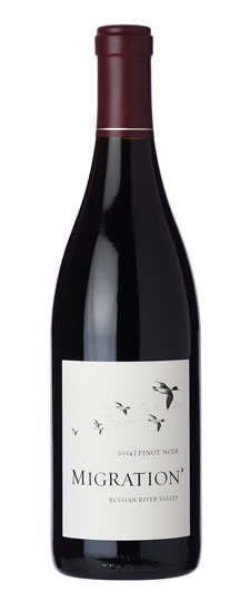 Duckhorn Migration Pinot Noir, Russian River Valley, California, 2015