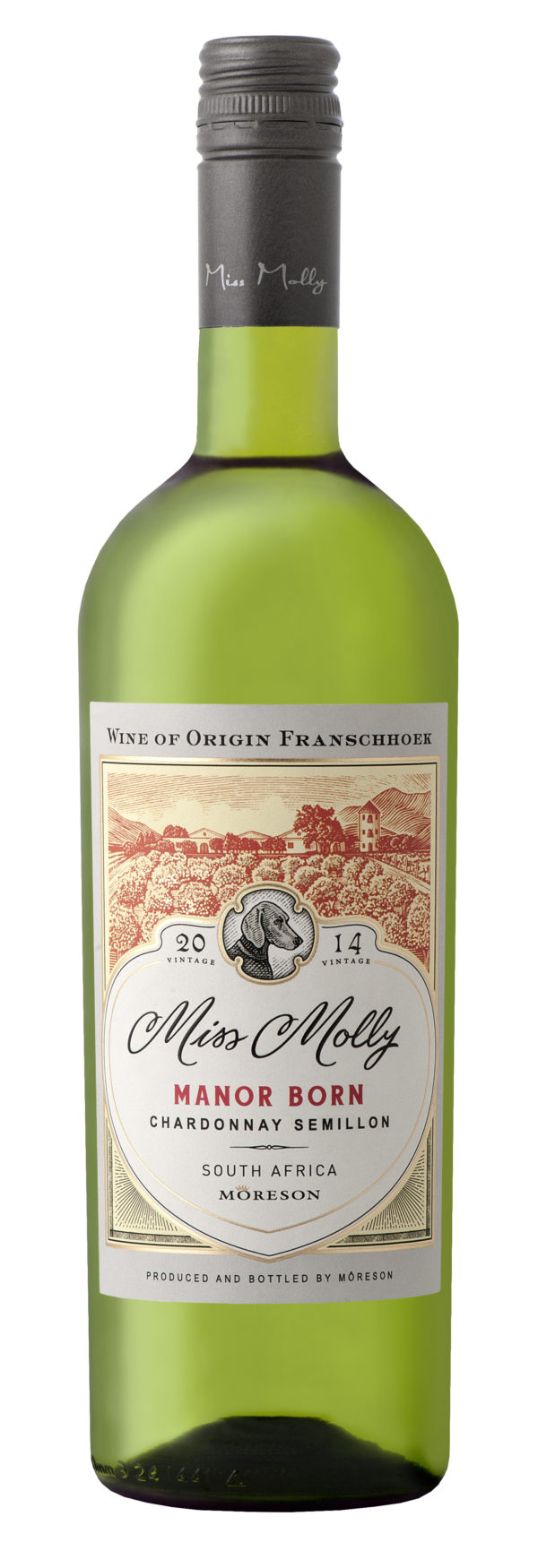 Miss Molly, Manor Born, Chardonnay – Semillon, Franschhoek, South Africa, 2016 1
