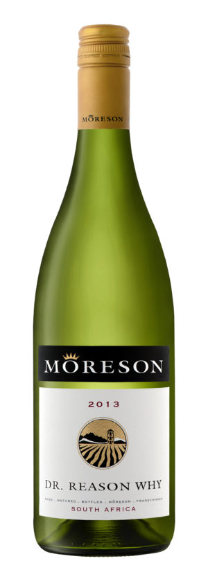 Moreson, Dr Reason Why, Unwooded Chardonnay, Franschhoek, South Africa, 2018