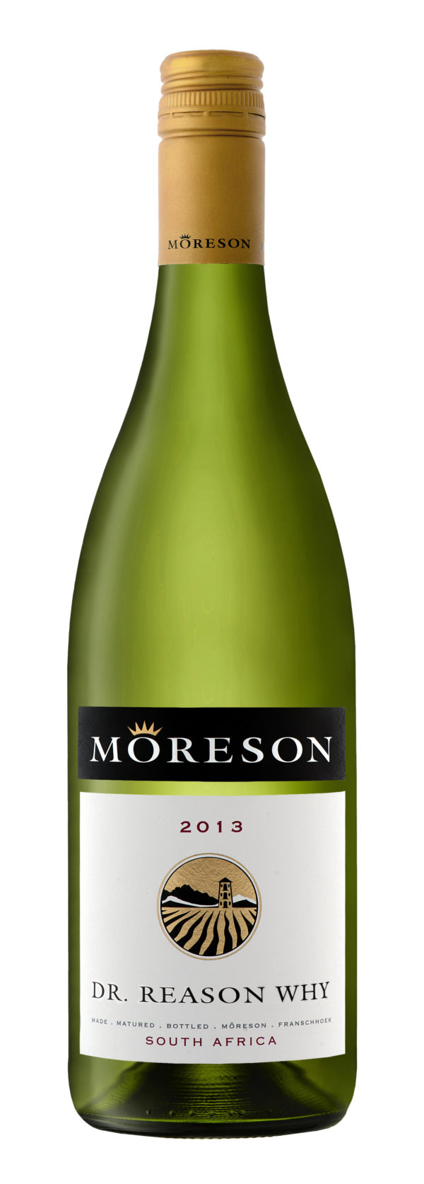 Moreson, Dr Reason Why, Unwooded Chardonnay, Franschhoek, South Africa, 2018 1