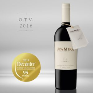 Uva Mira Mountain Vineyards, O.T.V. Stellenbosch, South Africa, 2016
