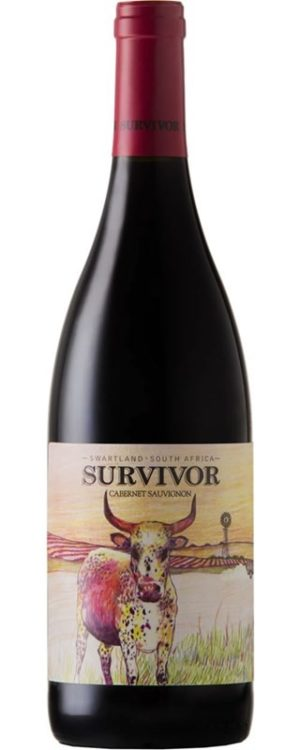 Survivor, Cabernet Sauvignon, Swartland, South Africa, 2017