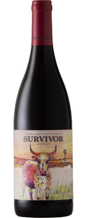 Survivor, Pinotage, Swartland, South Africa, 2017